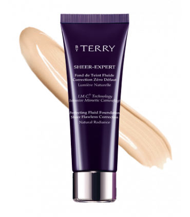 Sheer-Expert Fond De Teint Fluide Correction Zéro Défaut de By Terry N9 Honey Beige