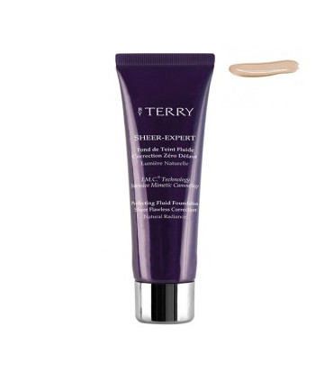 Sheer-Expert Fond De Teint Fluide Correction Zéro Défaut de By Terry Intense Beige