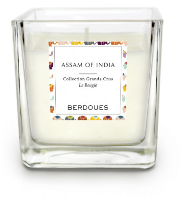 Bougie Parfumée Assam of India 180g de Berdoues