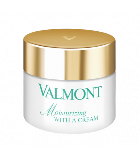 Moisturizing With a Cream de Valmont