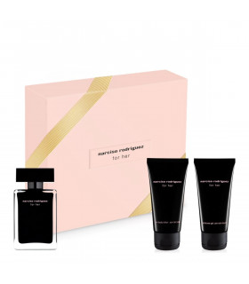 Coffret For Her Eau de Toilette 50ml + Lotion Corps + Gel Douche de Narciso Rodriguez